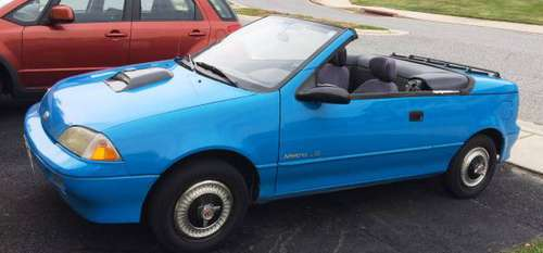 1991 Geo Metro Convertiblem for sale in Aberdeen, MD