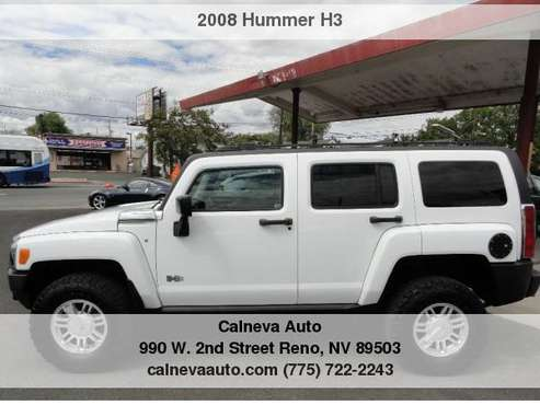 2008 HUMMER H3 4WD 4dr SUV for sale in Reno, NV