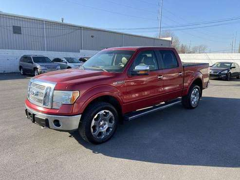 2010 Ford F150 SuperCrew Cab XLT Pickup 4D 5 1/2 ft - cars & trucks... for sale in Kansas City, MO