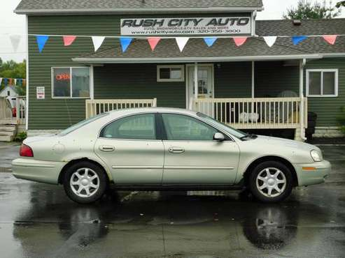 2003 MERCURY SABLE GS PLUS V-6 AUTO LOADED ALLOYS 136M $1,895 for sale in Rush City, MN