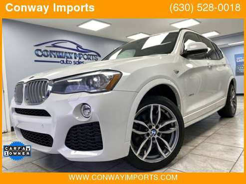 2016 BMW X3 xDrive35i ///M Pckg * LOW MILES * $358/mo* Est. for sale in Streamwood, IL