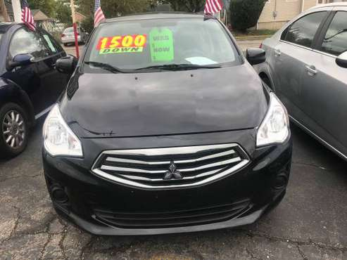 2017 MITSUBISHI MIRAGE for sale in Hamilton, OH