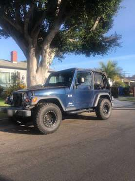 2003 Jeep Wrangler TJ - LOW MILEAGE - cars & trucks - by owner -... for sale in Los Angeles, CA