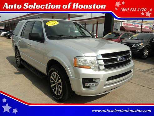 2015 Ford Expedition XLT 4x2 4dr SUV for sale in Houston, TX