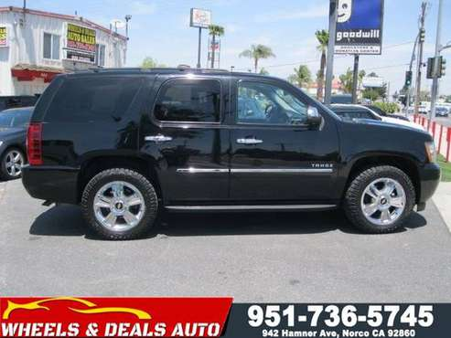 2010 Chevy Tahoe LTZ 4x4 for sale in Norco, CA