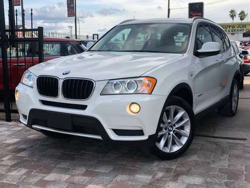 2014 BMW X3 XDRIVE~$3K DOWN EVERYONE APPROVED for sale in TAMPA, FL