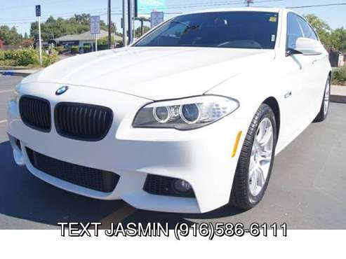 2013 BMW 5 Series 528i M PKG LOW MILES LOADED WARRANTY BAD CREDIT... for sale in Carmichael, CA