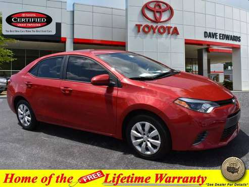 2016 Toyota Corolla LE for sale in Spartanburg, SC