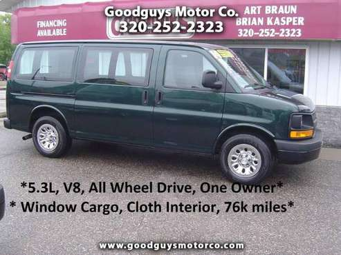 2014 Chevrolet Express Cargo Van AWD 1500 135 for sale in Waite Park, MN
