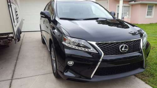 2015 lexus RX350 Sport appearance package Rebuilt title for sale in North Port, FL