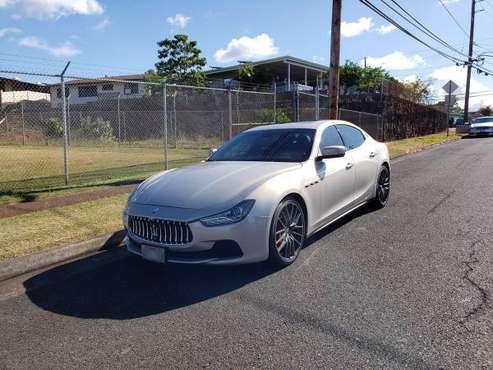 2014 Maserati Ghibli S Q4 AWD for sale in Honolulu, HI