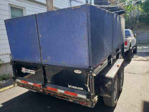 Dump Trailer 12' long for sale in Somerville, MA
