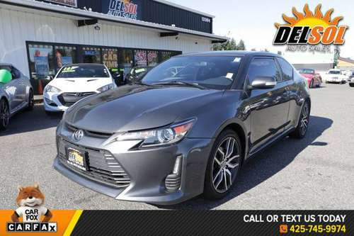 2015 Scion tC Base Bluetooth, Nonsmoker, Power Pakcage, Navigation Sys for sale in Everett, WA