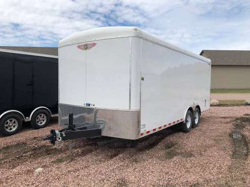 2019 H&H Trailers 101.20.78 White Barn Doors Cargo #8236 for sale in Harrisburg, SD