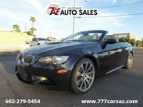 2008 BMW M3 2DR CONV M3 with Auxiliary pwr outlet for sale in Phoenix, AZ