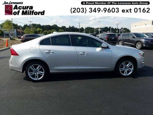 2014 Volvo S60 sedan 4dr Sdn T5 AWD (SILVER) for sale in Milford, CT