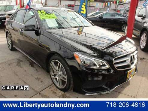 2015 Mercedes-Benz E-Class E 350 4MATIC AWD 4dr Sedan **Guaranteed... for sale in Jamaica, NY