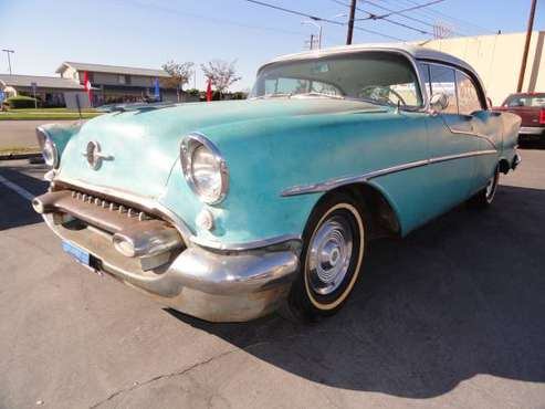 1955 Oldsmobile Holiday 4dr Hardtop for sale in Valyermo, CA