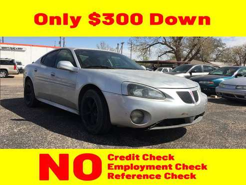 2005 GRAY PONTIAC GRAND PRIX for $300 Down - cars & trucks - by... for sale in Lubbock, TX