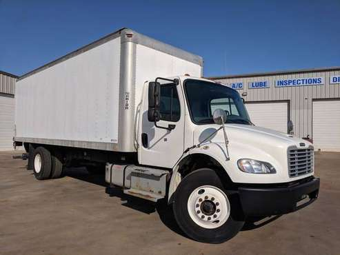 2014 Freightliner M2 24' Cargo Box, Diesel, E-Track, Lift Gate, Financ for sale in Oklahoma City, OK