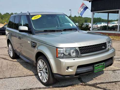 2011 Land Rover Range Rover Sport HSE Luxury, 96K, V8, Leather, Roof for sale in Belmont, VT