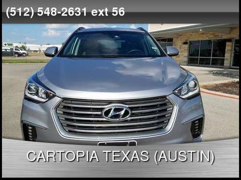 2017 Hyundai Santa Fe 4d SUV FWD SE CALL FOR DETAILS AND PRICING for sale in Kyle, TX