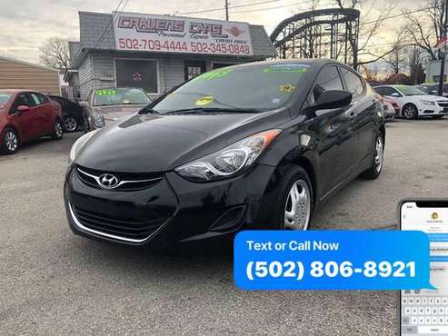 2012 Hyundai Elantra GLS 4dr Sedan 6A EaSy ApPrOvAl Credit Specialist for sale in Louisville, KY