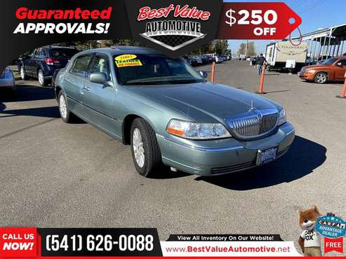 2005 Lincoln Town Car Signature Limited FOR ONLY $96/mo! - cars &... for sale in Eugene, OR