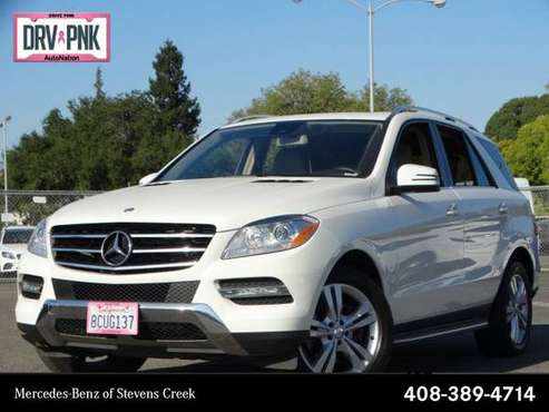 2013 Mercedes-Benz M-Class ML 350 AWD All Wheel Drive SKU:DA219527 for sale in San Jose, CA