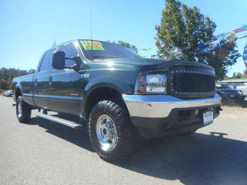 2001 FORD F350 SUPERDUTY CREWCAB LONGBED 4X4 7.3 POWERSTROKE DIESEL!!! for sale in Anderson, CA