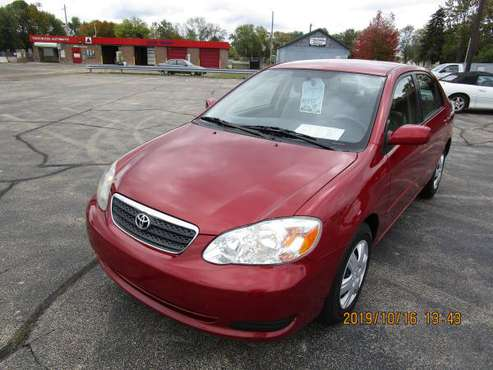 2007 Toyota Corolla LE 4dr Sedan (1.8L I4 4A) 195277 Miles for sale in Neenah, WI