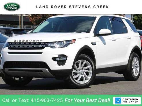 2016 Land Rover Discovery Sport HSE suv Fuji White for sale in San Jose, CA
