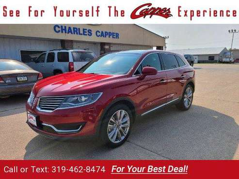 2016 Lincoln MKX Reserve suv Red - cars & trucks - by dealer -... for sale in Marengo, IA