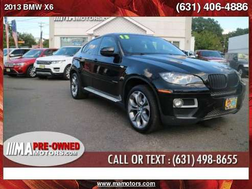 2013 BMW X6 AWD 4dr xDrive35i Long Isalnd Apply now for sale in Huntington Station, NY