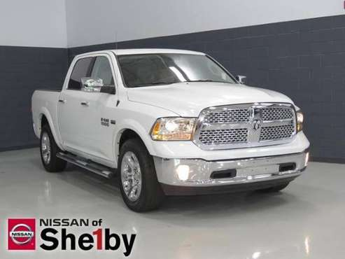 2018 Ram 1500 truck Laramie - Bright White Clearcoat for sale in Shelby, NC