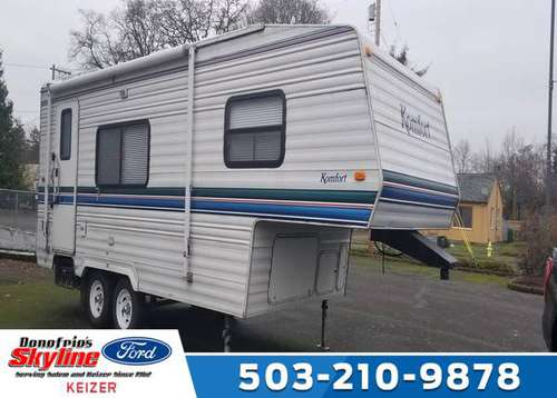 2001 Used Komfort 5TH Wheel for sale in Keizer , OR