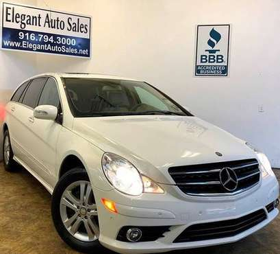 2009 Mercedes-Benz R-Class 4MATIC * 65K LOW MILES * WARRANTY * FINANCE for sale in Rancho Cordova, CA