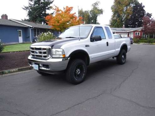 2003 F-250 SUPERDUTY XLT for sale in Springfield, OR