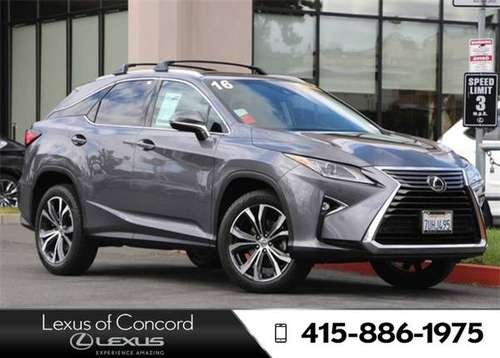 2016 Lexus RX 350 Monthly payment of for sale in Concord, CA