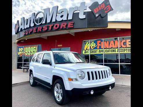 2017 Jeep Patriot Latitude Carfax Certified New Tires 30mpg Nice! -... for sale in Chandler, AZ