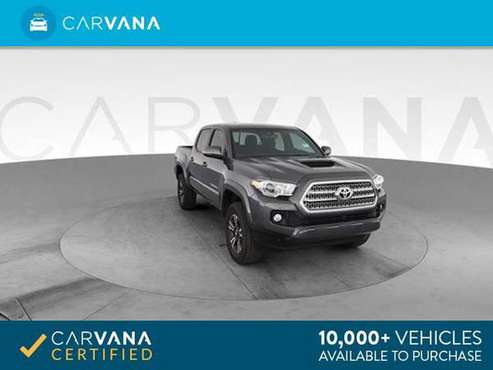 2017 Toyota Tacoma Double Cab SR Pickup 4D 5 ft pickup GRAY - FINANCE for sale in Atlanta, CA