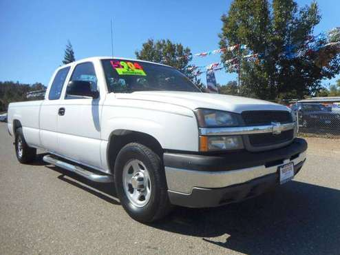 2004 CHEVY SILVERADO EXTENDED CAB LONGBED 2WD %CHEAP TRUCK% for sale in Anderson, CA