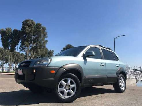 "2005 Hyundai Tucson LX 4-door Sport Utility ""4x4, reliable"" for sale in Chula vista, CA"