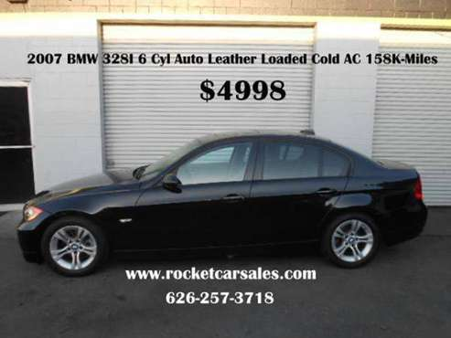 2007 BMW 3 Series 328i 4dr Sedan TAX SEASON SPECIALS!!!!!! for sale in Covina, CA