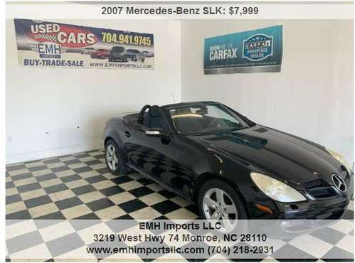 2007 Mercedes-Benz SLK for sale in Monroe, NC