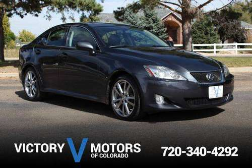 2008 Lexus IS 250 AWD - Over 500 Vehicles to Choose From! for sale in Longmont, CO