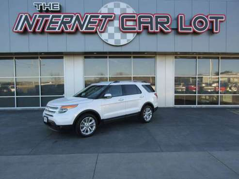 2014 *Ford* *Explorer* *4WD 4dr Limited* White Plati - cars & trucks... for sale in Omaha, NE
