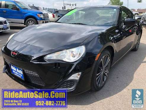 2013 Scion FRS FR-S 2 door coupe 2.0 boxer 4cyl 6 speed FINANCING OPTI for sale in Minneapolis, MN