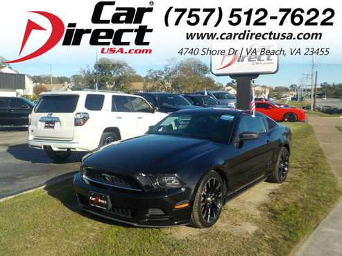 2013 Ford Mustang 2dr COUPE, MANUAL 6 SPEED V6, BLUETOOTH, FORD SYNC... for sale in Virginia Beach, VA