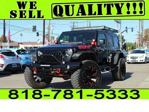 2021 Jeep Wrangler Sport S Unlimited 4x4 MODIFIED *BAD CREDIT NO... for sale in North Hollywood, CA